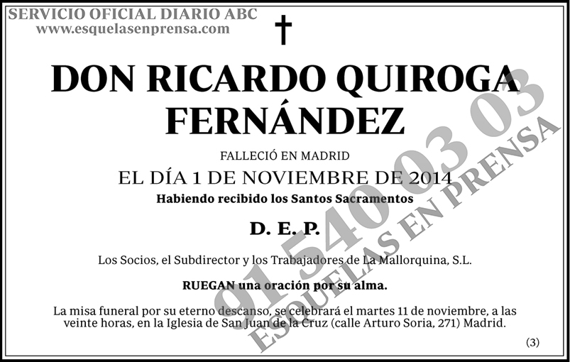 Ricardo Quiroga Fernández